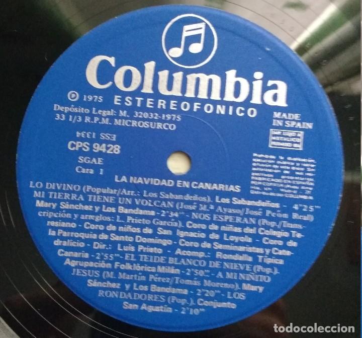 Discos de vinilo: NAVIDAD EN CANARIAS LP 1975. - Foto 3 - 112818499