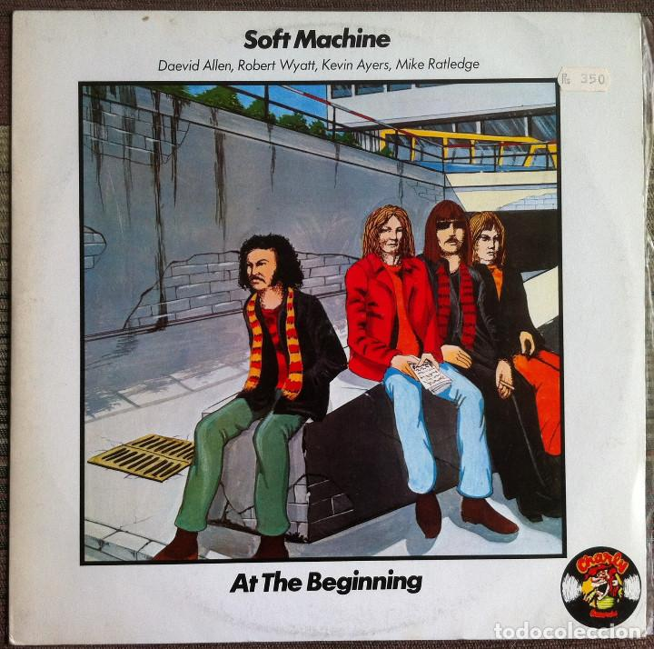SOFT MACHINE - AT THE BEGINNING - LP - CHARLY - 1977 EDICIÓN ESPAÑOLA (Música - Discos de Vinilo - EPs - Pop - Rock Extranjero de los 70	)