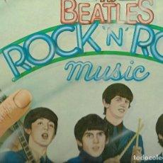 Discos de vinilo: VINILO DE MUSICA DE LAS BEATLES TROCK N ROLL DOS VINILOS. Lote 112869947