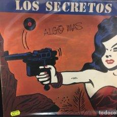 Discos de vinilo: LOS SECRETOS - ALGO MÁS - LP. Lote 112899079