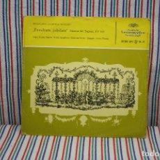 Discos de vinilo: SINGLE WOLFGANG AMADEUS MOZART EXSULTATE JUBILATE. Lote 112900163