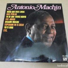 Discos de vinilo: ANTONIO MACHIN (LP) ANTONIO MACHIN AÑO 1976 – GRAMUSIC. Lote 112902743