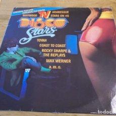 Discos de vinilo: TV DISCO STARS. Lote 112917351