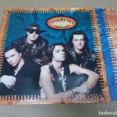 Discos de vinilo: EL ALMA (LP) ANIMAL AÑO 1991 – HOJA CON LETRAS – FIRMADO POR EL GRUPO. Lote 112920067
