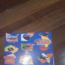 Discos de vinilo: LA DÉCADA PRODIGIOSA_ EN VIVO LO MEJOR DE LOS 60,70 Y 80.DOBLE LP. Lote 112924147
