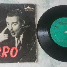 Discos de vinilo: PEPE IGLESIAS EL ZORRO: QUE PATATIN...QUE PATATAN + 3 (ALHAMBRA 1958). Lote 112940895