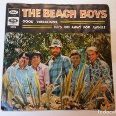 Discos de vinilo: SINGLE. THE BEACH BOYS. Lote 112955903