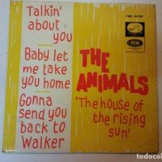 Discos de vinilo: SINGLE. THE ANIMALS. Lote 112956567