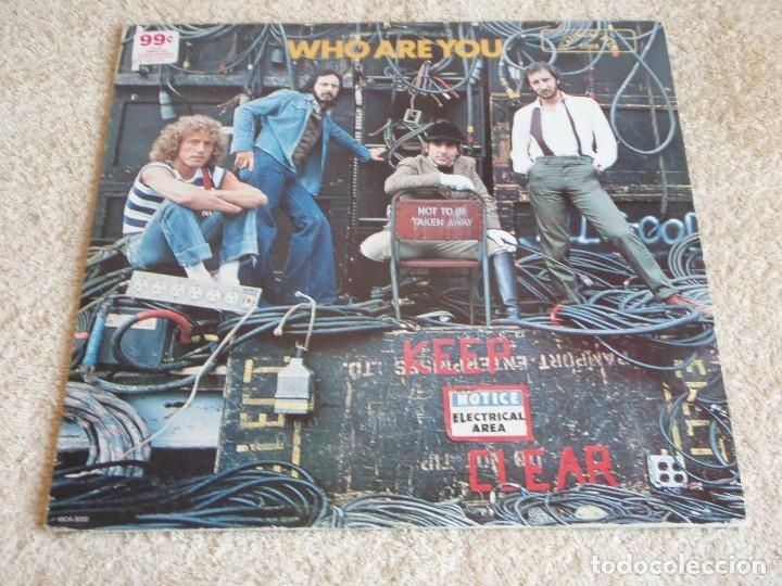 THE WHO ( WHO ARE YOU ) USA - 1978 LP33 MCA RECORDS (Música - Discos - LP Vinilo - Pop - Rock - New Wave Extranjero de los 80)