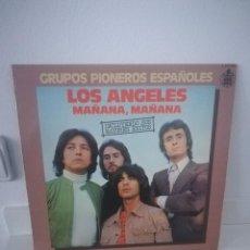 Discos de vinilo: LOS ANGELES MAÑANA, MAÑANA. Lote 112960039