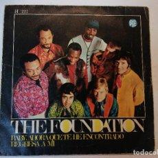 Discos de vinilo: SINGLE. THE FOUNDATION. Lote 112960251