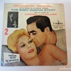 Discos de vinilo: SINGLE. THE EDDY DUCHIN STORY. Lote 112960391