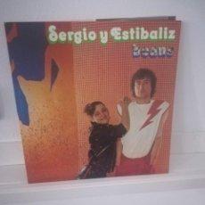 Discos de vinilo: SERGIO Y ESTIBALIZ BEANS. Lote 112961811