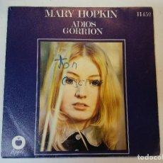 Discos de vinilo: SINGLE. MARY HOPKIN. Lote 112961891