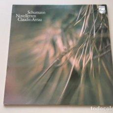 Discos de vinilo: ROBERT SCHUMANN - NOVELLETTEN OP.21 (LP) CLAUDIO ARRAU. Lote 112962251