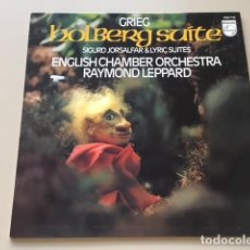 Discos de vinilo: EDVARD GRIEG - HOLBERG SUITE (LP) ENGLISH CHAMBER ORCHESTRA. Lote 112962711