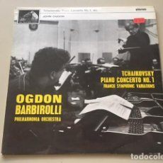 Discos de vinilo: TCKHAIKOVSKY - PIANO CONCERTO N.1 (LP) JOHN ODGON, SIR JOHN BARBIROLLI. Lote 112963051