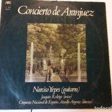 Discos de vinilo: LP. CONCIERTO DE ARANJUEZ. Lote 112967695