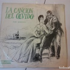 Discos de vinilo: LP. LA CANCION DEL OLVIDO. JOSE SERRANO. Lote 112970207