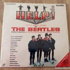 Discos de vinilo: HELP! THE BEATLES LASERDISC EDICIÓN ESPECIAL 30 ANIVERSARIO . Lote 112972959