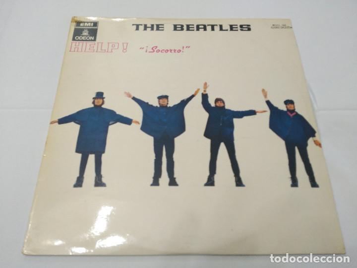 042 - THE BEATLES - HELP - LP 1965 (Música - Discos - LP Vinilo - Pop - Rock Extranjero de los 50 y 60)