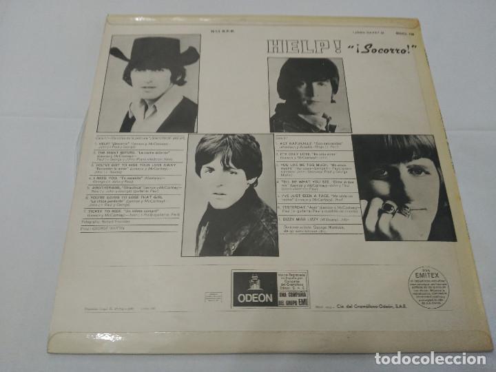 Discos de vinilo: 042 - THE BEATLES - HELP - LP 1965 - Foto 2 - 112975903