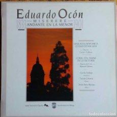 Discos de vinilo: EDUARDO OCON. MISERERE. ANDANTE EN LA MENOR. ORQUESTA SINFONICA CIUDAD DE MALAGA. LP RNE. Lote 112979379