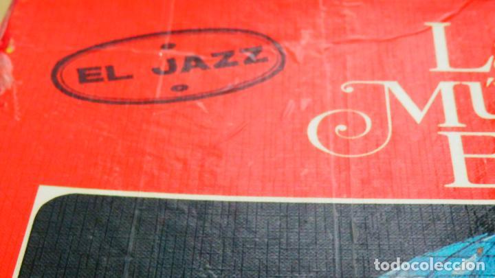 Discos de vinilo: LA MÚSICA ELEGIDA * EL JAZZ * BOX SET 4LP + LIBRO 100 páginas en español * Promocional * rare - Foto 3 - 112983235