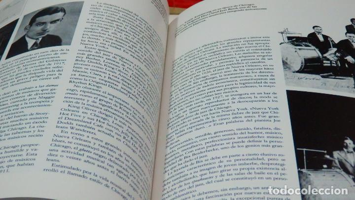 Discos de vinilo: LA MÚSICA ELEGIDA * EL JAZZ * BOX SET 4LP + LIBRO 100 páginas en español * Promocional * rare - Foto 7 - 112983235