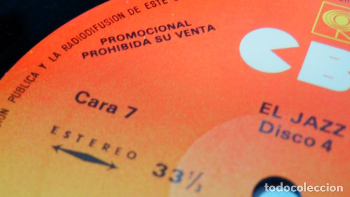 Discos de vinilo: LA MÚSICA ELEGIDA * EL JAZZ * BOX SET 4LP + LIBRO 100 páginas en español * Promocional * rare - Foto 8 - 112983235