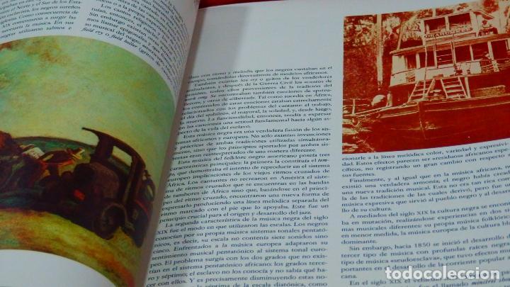 Discos de vinilo: LA MÚSICA ELEGIDA * EL JAZZ * BOX SET 4LP + LIBRO 100 páginas en español * Promocional * rare - Foto 11 - 112983235