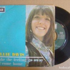 Discos de vinilo: BILLIE DAVIS - MAKE THE FEELING GO AWAY + ILL COME HOME - SINGLE ESPAÑOL 1969 - DECCA. Lote 112987299