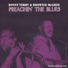 Discos de vinilo: SONNY TERRY & BROWNIE MCGHEE * LP HQ VIRGIN VINYL 140G * PREACHIN´ THE BLUES * LTD PRECINTADO!!. Lote 125962908