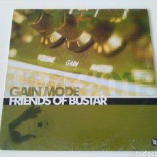 Discos de vinilo: GAIN MODE - FRIENDS OF BUSTAR. Lote 112994256