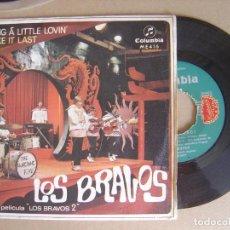 LOS BRAVOS - Bring a Little Lovin + Make it Last - SINGLE 1967 - COLUMBIA