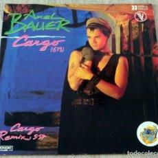 Discos de vinilo: AXEL BAUER ¨CARGO¨. Lote 112995887