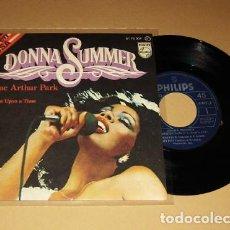 Discos de vinilo: DONNA SUMMER - MAC ARTHUR PARK - SINGLE - 1978. Lote 112996691