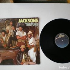 Discos de vinilo: JACKSONS - TORTURE - EPIC 124675 - AÑO 1984. Lote 112997039