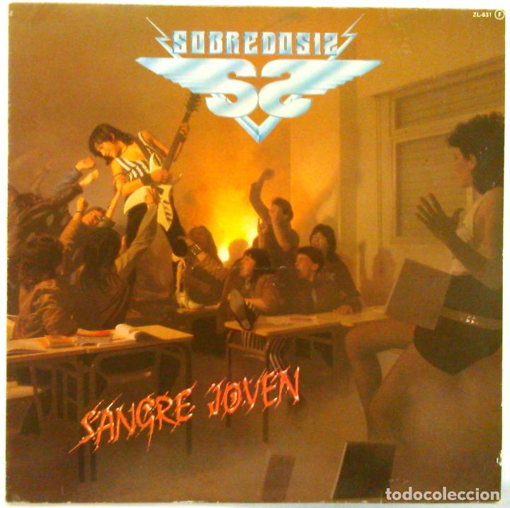 SOBREDOSIS -SANGRE JOVEN (Música - Discos - LP Vinilo - Heavy - Metal)