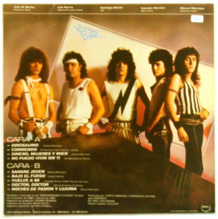 Discos de vinilo: SOBREDOSIS -SANGRE JOVEN - Foto 2 - 113006939