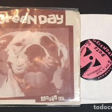 Discos de vinilo: SINGLE EP VINILO GREEN DAY SLAPPY EP LOOKOUT RECORDS - PUNK ROCK. Lote 113007011