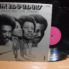 Discos de vinilo: THE INDEPENDENTS CHUCK,HELEN,ERIC,MAURICE LP SPAIN 1977 PEPETO TOP. Lote 113009235