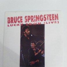 Discos de vinilo: BRUCE SPRINGSTEEN LUCKY TOWN ( LIVE ) ( 1993 CBS ESPAÑA ) PROMOCIONAL MUY BUEN ESTADO. Lote 113012751