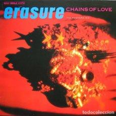 Discos de vinilo: ERASURE – CHAINS OF LOVE (THE FOGHORN MIX) - MAXI-SINGLE GERMANY 1988. Lote 113014331