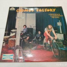 Discos de vinilo: 109 - CREEDENCE CLEAWATER REVIVAL - COSMO'S FACTORY - LP 1970. Lote 113015127