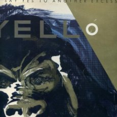 Discos de vinilo: YELLO - YOU GOTTA SAY YES TO ANOTHER EXCESS. Lote 113017787