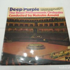 Discos de vinilo: 121 - DEEP PURPLE - THE ROYAL PHILARMONIC ORCHESTRA - POR MALCOLM ARNOLD - LP 1971. Lote 113018403