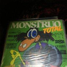 Discos de vinilo: MONSTRUO TOTAL - RECOPILATORIO DEL AÑO 1985 - 2 VINILOS. Lote 113018527