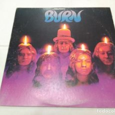 Discos de vinilo: 127 DEEP PURPLE - BURN - LP 1974 FABRICADO EN USA INCLUYE LETRAS. Lote 113018643