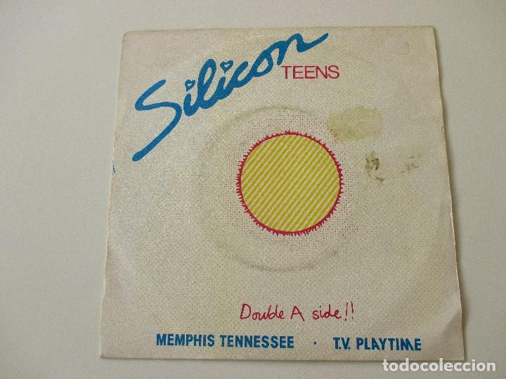 SILICON TEENS MEMPHIS TENNESSEE/ TV PLAYTIME 1980 (Música - Discos - Singles Vinilo - Electrónica, Avantgarde y Experimental)